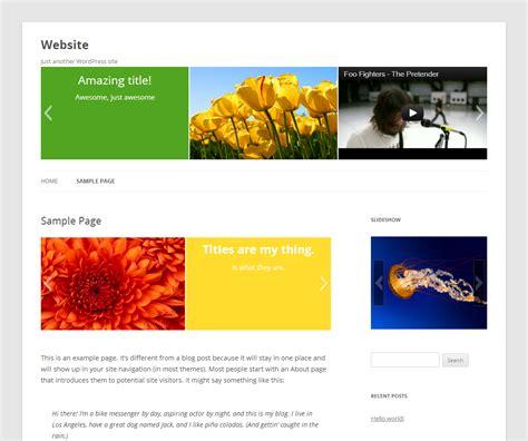 tutorial wordpress gallery slideshow slideshow wordpress plugins