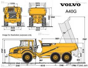 Volvo A40g Volvo A40g Knik Dumptrucks Volvo Machinegids