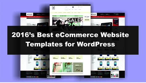 2016 S Best Ecommerce Website Templates For Wordpress Bloggdude Best Ecommerce Template
