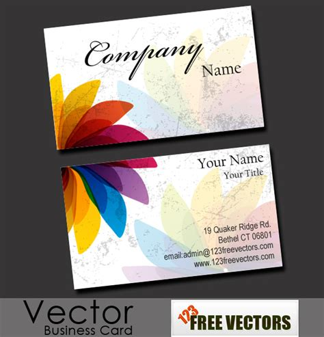 free vectors business card templates free business card vector free vector