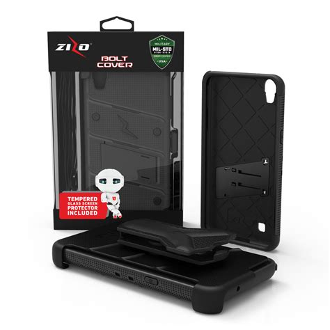 Tempered Glass Lg X Power for lg x power cover tempered glass kickstand holster