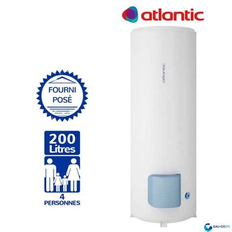 Chauffe Eau 200l Sur Socle 7410 chauffe eau electrique 200l atlantic z 233 n 233 o vertical sur socle