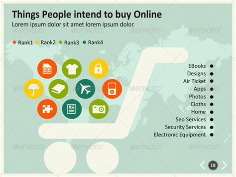 e commerce powerpoint template infographics collection of high quality template design