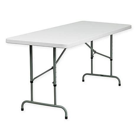 bed bath beyond folding table flash furniture 6 rectangular folding table in