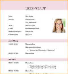 Lebenslauf Vorlage 2013 Word 5 Lebenslauf Vorlage Modern Reimbursement Format