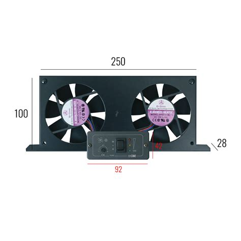 control panel fan cbe tornado dual fan set cing refrigerators incl