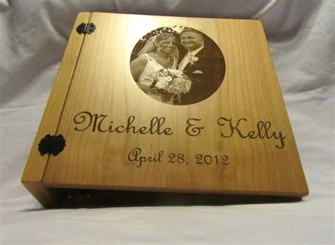 Wedding Gift Idea Personalized Wedding Album by Personalized 3 Ring Wedding Photo Album
