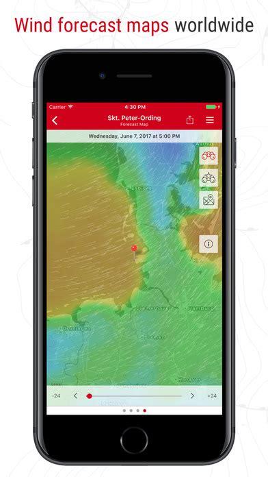 windfinder mobile windfinder pro app report on mobile