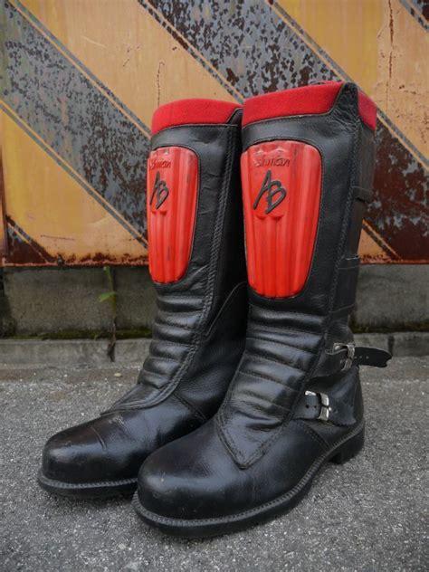 vintage motocross boots ashman vintage motocross boots black 215 sixhelmets