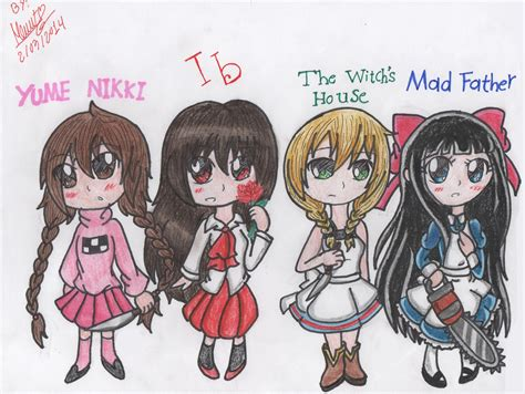 libro chibi girls horror an rpg horror games chibi girls 1 by monsethehedgehog on