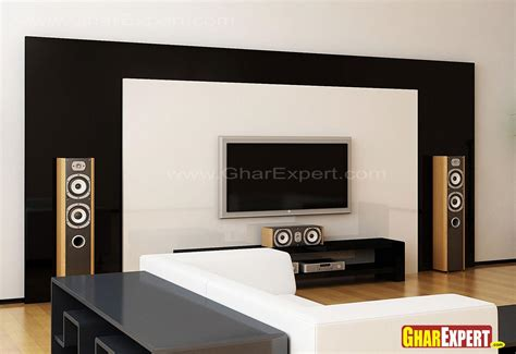 Indian Home Decor Ideas lcd unit for living room gharexpert