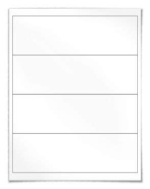 4 Labels Per Sheet Template by 29 Best Images About Blank Label Templates On
