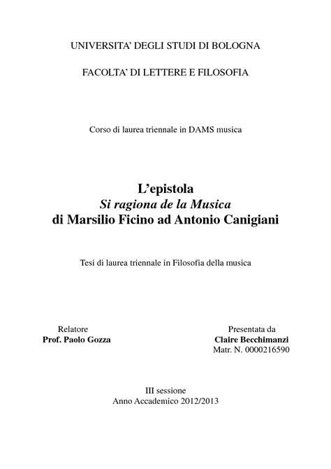 facolta di lettere bologna universita degli studi di bologna facolta di lettere e