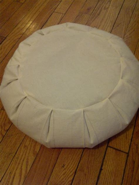 How To Make A Zafu Meditation Pillow by Make Your Own Zafu Meditation Pillow