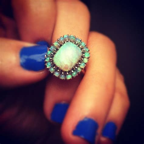 turquoise opal turquoise opal vintage ring i d love for my engagement