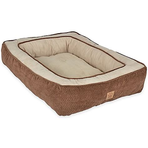 pillow pet bed gusset low bumper polyester floor pillow pet bed