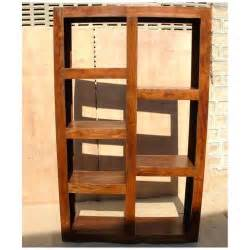 Room Divider Bookcase Solid Wood Modern Display Rack Cube Bookcase Shelf Room