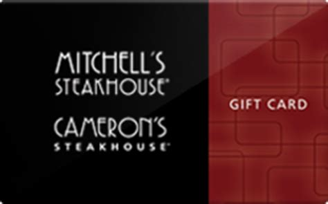 Cameron Mitchell Gift Cards - buy mitchell s steakhouse gift cards raise