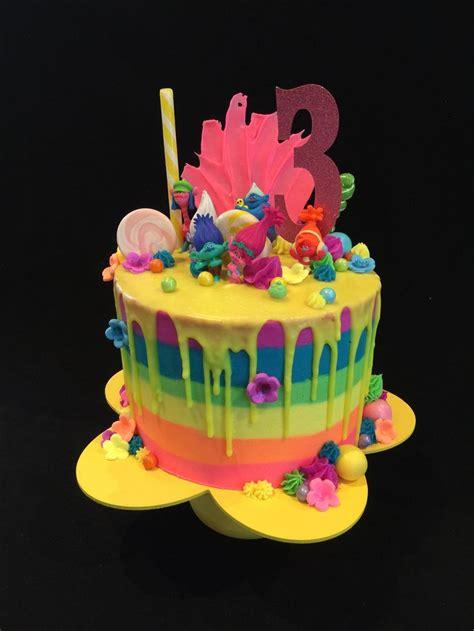 Rainbow Buttercream Uk15 1 282 best edible magic cake design cakes images on