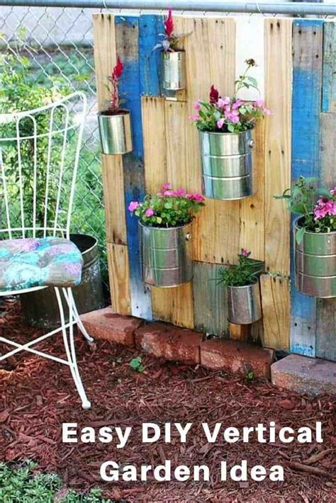diy garden 20 diy vertical garden ideas to drastically increase your