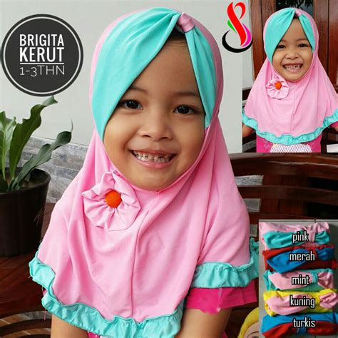 Jilbab Anak Elthof Balinda Sale 10 jilbab anak brigita kerut sentral grosir jilbab kerudung i supplier jilbab i retail grosir