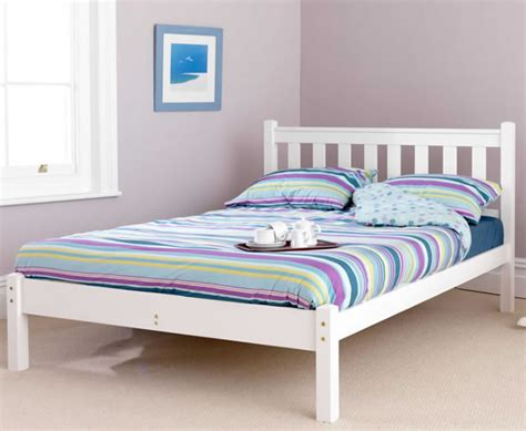shaker bed kansas shaker small double 4ft white pine bed