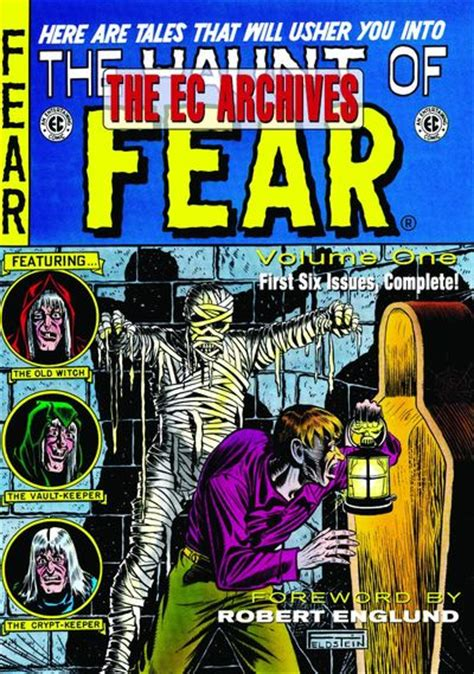 the ec archives the haunt of fear volume 5 johnny craig fresh comics