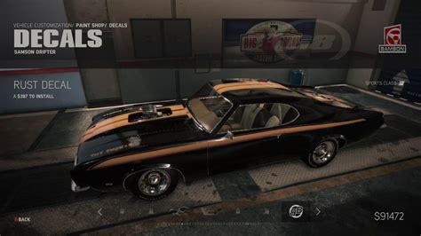 Schnellstes Auto Unturned mafia iii samson drifter car customization december