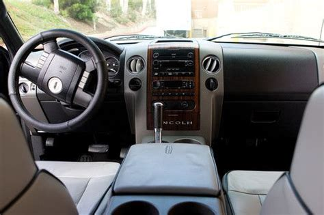 Lincoln Lt Interior by Purchase Used 2006 Lincoln Lt Truck Black Grey