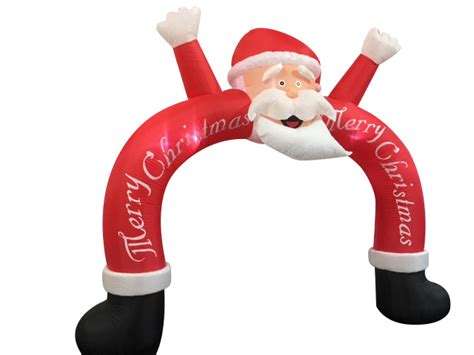 8ft inflatable santa arch
