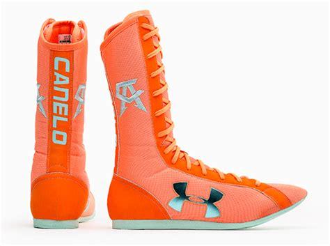 armour boxing shoes armour ua boxing boots for saul quot canelo quot alvarez