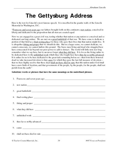 The Gettysburg Address Essay by The Gettysburg Address Essay
