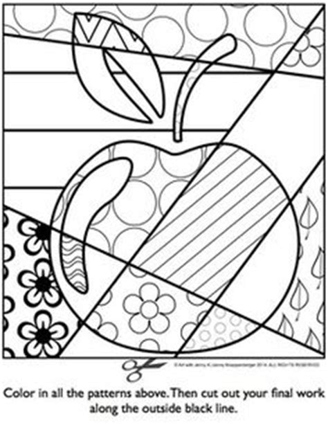 free pattern filled shamrock coloring sheet try out this