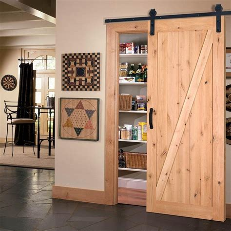 home hardware doors interior masonite 42 in x 84 in z bar knotty alder interior barn