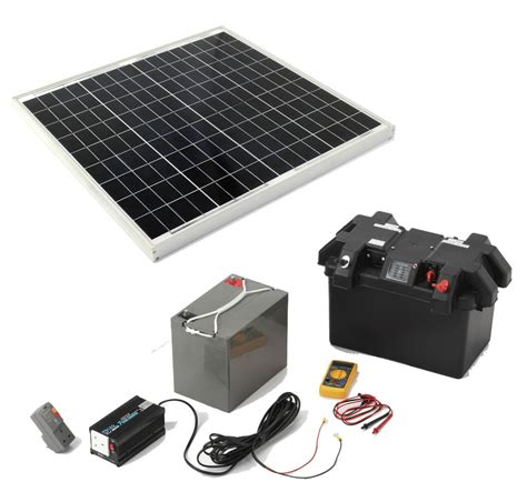 solar powered kit cervan solar electricity