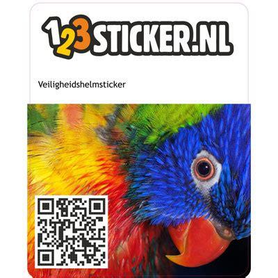 Sticker Van Helm Verwijderen by Stickers 123spandoek Nl