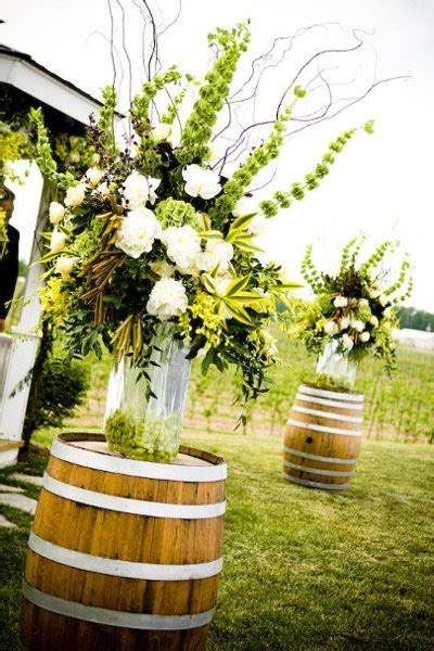 renting centerpieces for weddings renting wine barrels in az weddingbee