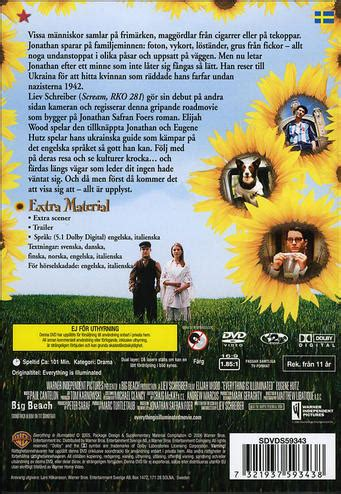 se filmer everything everything everything is illuminated dvd discshop se