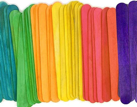 color sticks jumbo color wooden craft sticks