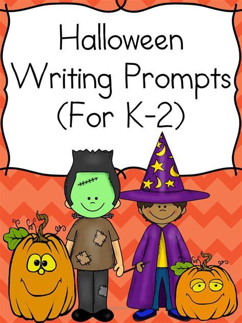 halloween writing themes halloween writing prompts for kindergarten 1st 2nd grade