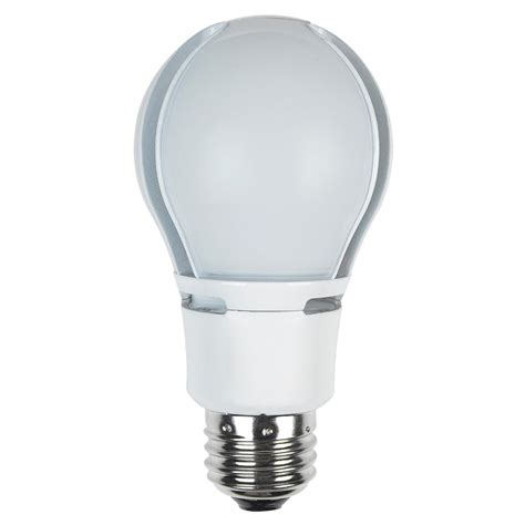 Dimmable Led Light Bulbs 60w Maximus 60w Equivalent Warm White A19 Dimmable Led Light Bulb M 11a19 830 O D The Home Depot