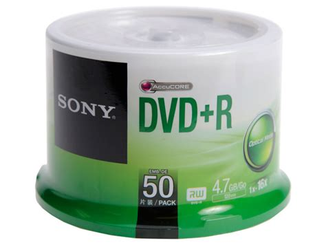 Dvdr Sony sony dvd r dvd r 16x spindle of 50 tapeonline