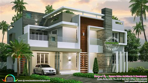 Home Design Amusing Condambarary Home Design Contemporary Contemporary House Plans Kerala