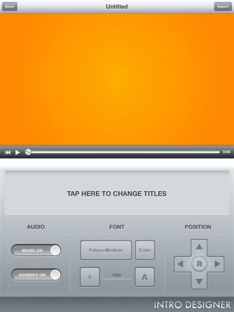 intro designer for ipad free imovie video effects on ios