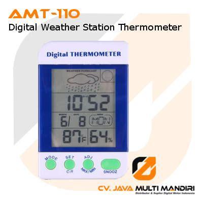 Termometer Cuaca thermometer digital pemantau cuaca amtast amt 110
