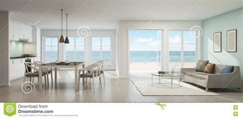 sea view living room sea view living room dining room and kitchen house