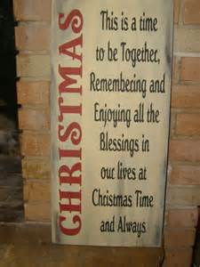 a christmas holiday primitive wood sign home by dawnspainting