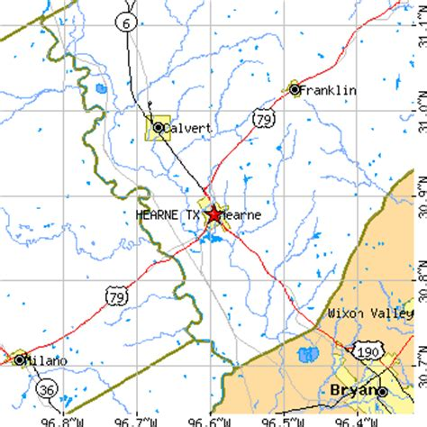 hearne texas map hearne tx