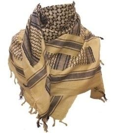 Arafah Harly Black Koko Arafah plo scarf arafat shawl yellow black sand