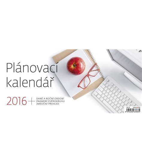 Table Calendar 2016 Table Calendar Pl 225 Novac 237 Kalend 225 ř 2016